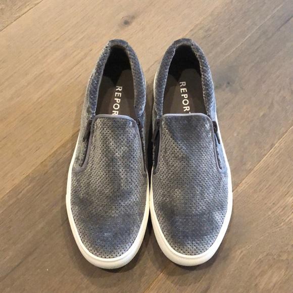 Report Shoes | Zipper Slip Ons | Poshmark